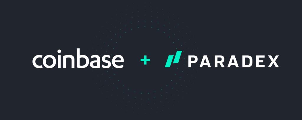 coinbase + paradex