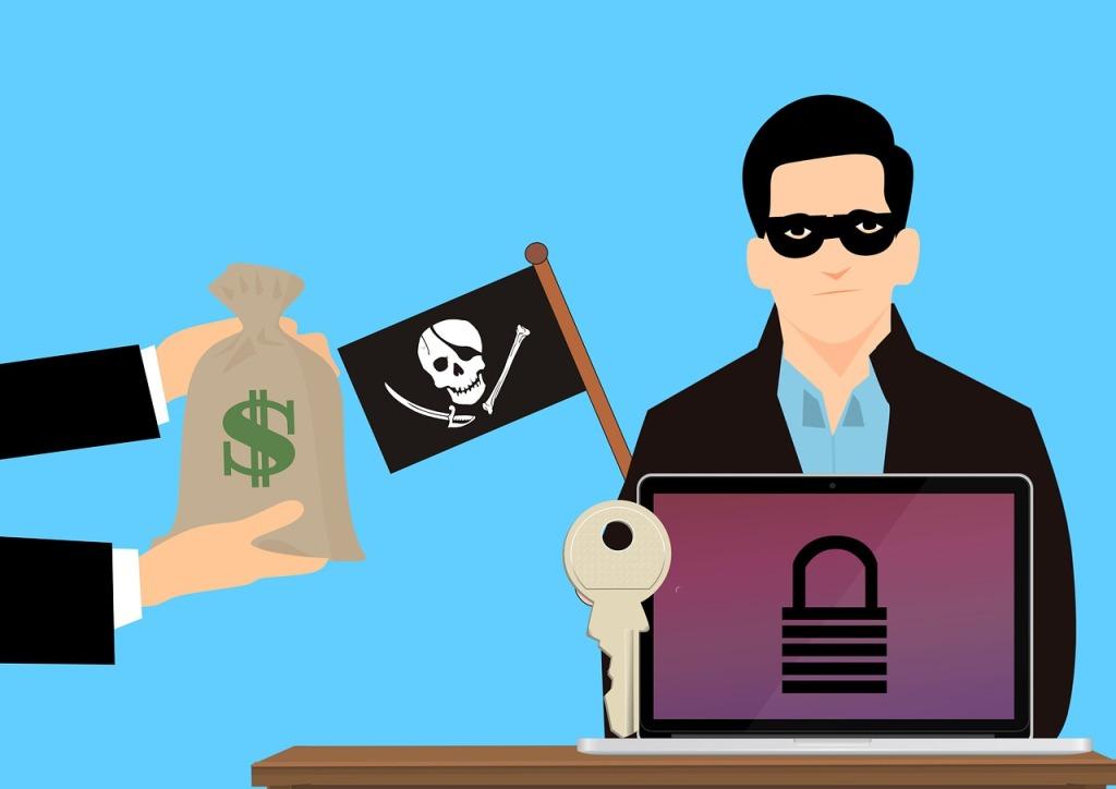 Come si prende un ransomware
